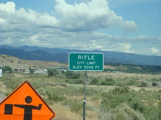 Rifle State Park, Rifle Colorado – August 5, 2010
