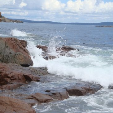 Thunder Hole and Sandy Beach