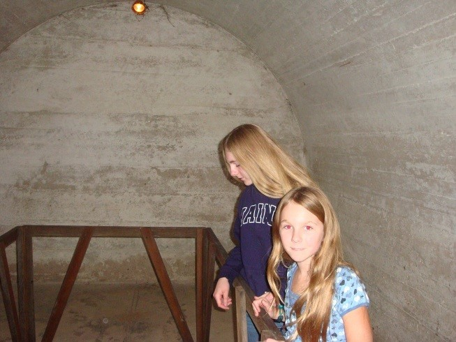 Fort Mifflin launched torpedoes. They kept them in this hole