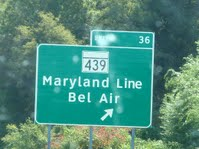 October 10, 2010 – Drove to College Park Maryland (Cherry Hill)
