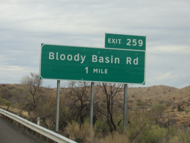 Now this is a crazy road name. Seems like a great way to discourage visitors.