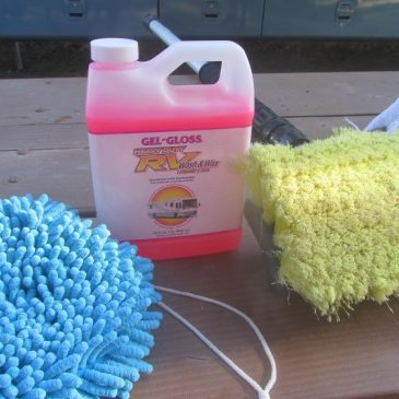 RV Maintenance – Washing the RV