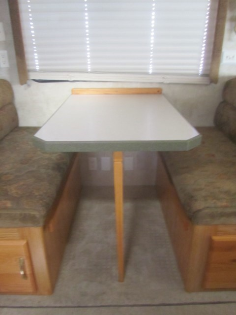 We are happy to have our table back, it is kind of like getting a long lost piece of home.
