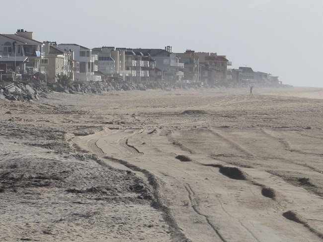 """California residents do not appear to like their beaches in the au' natural. They have to dress them with new sand every few years. They just completed Sanding Imperial Beach last October.  """"Imperial Beach – September 7 to October 4 - Timelapse Video 