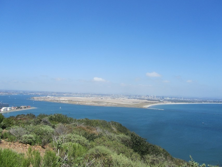 Cabrillo offers a wonderful overlook to the city and the ocean. It is easy to see why Cabrillo and his men took this area away from the natives.
