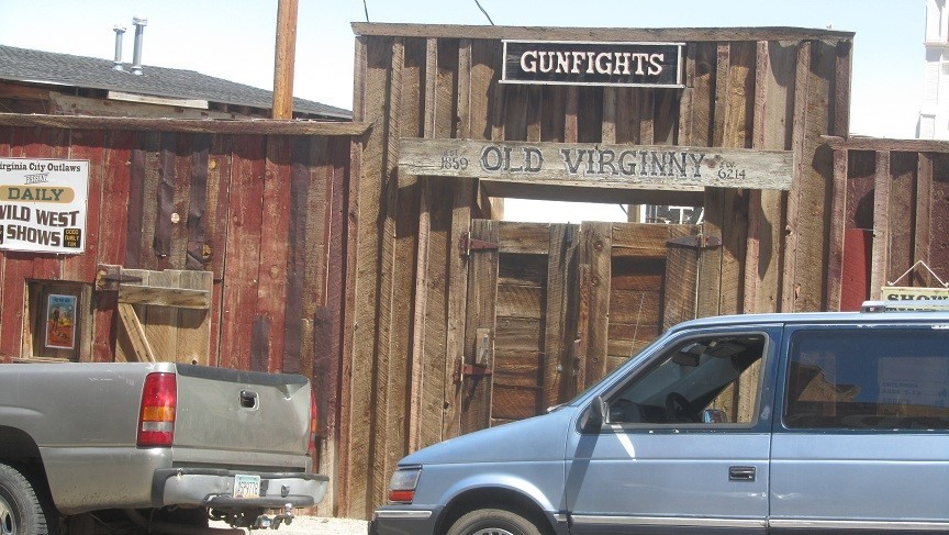 If the tavern was no help, they go over and join the gunfight across the street. Tourist pay to watch them shoot each other, the winner take all. I love the west. :)
