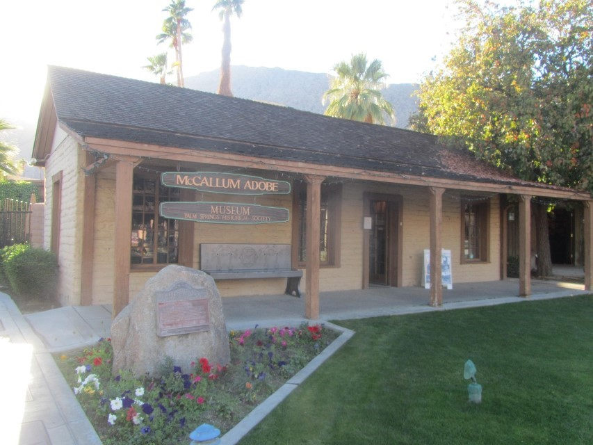 The Macullum museum is a very good museum. Athena went in and checked it out. It gives a great overview of the history of Palm Springs. I did not go in, I did not have a dollar. So bring a dollar with you. The museum also has a restroom in it, $1 is the cheapest restroom you will find here.