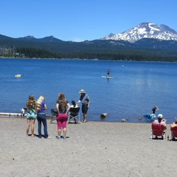 July 22, 2013 – Sunriver Thousand Trails, Elk Lake, More Slide Repair and off to Whalers Rest