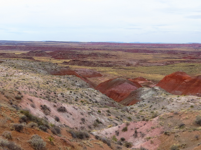 The painted hills in John Day, Oregon have nothing over this place