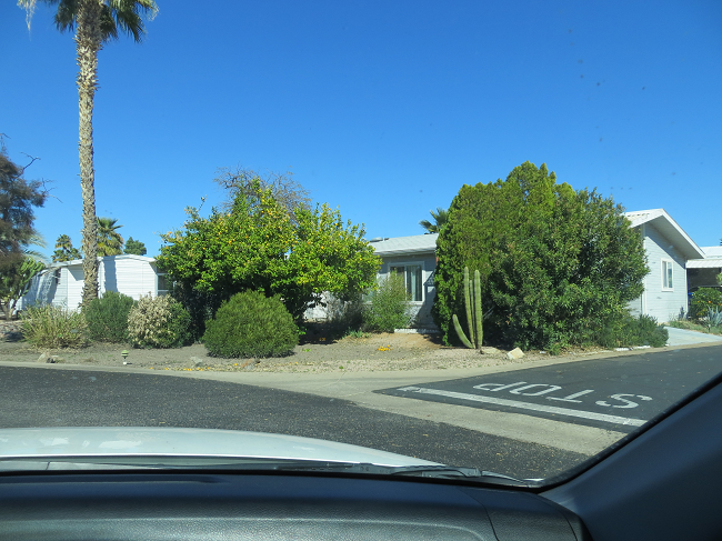 we arrive at the Monte Vista RV Resort and Encore park in Mesa Ca. At first look it does not look like much.