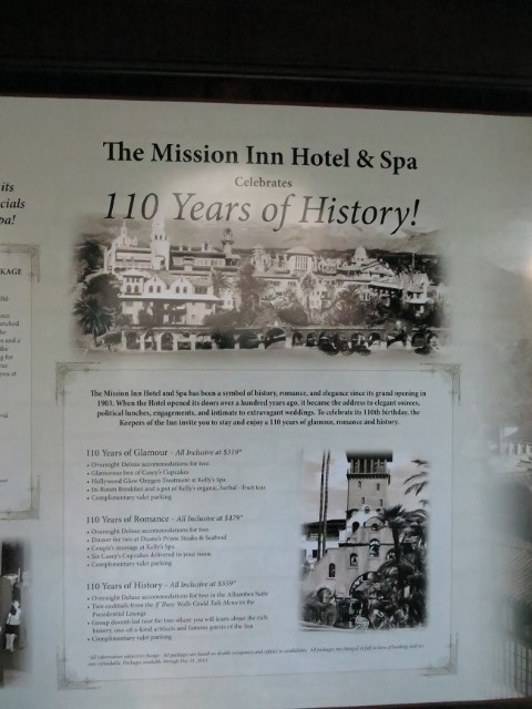 The hotel was officially opened the first time in 1903. This year you too can stay here and relive its birth, and its 110th anniversary. Average people, can't do this of course, but I hear tell that one might be able to convince his employer to send him here on a training mission. I asked my boss, Athena, she says the business is not yet profitable, but very very close. :) Note to self, make sure your employer is profitable before asking for extravagant business trips.
