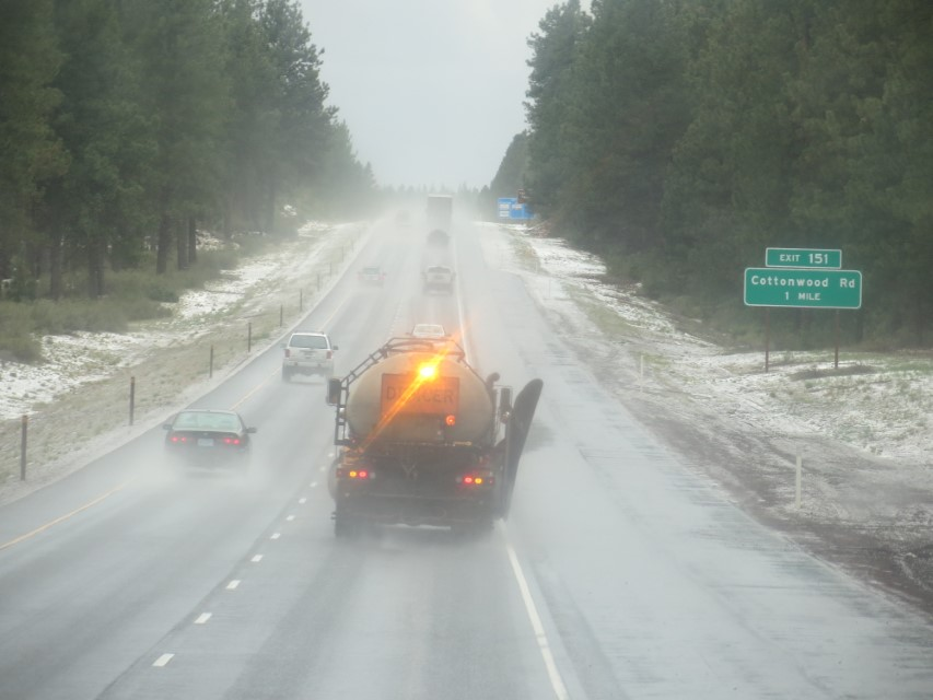 Septic guy de ices the road