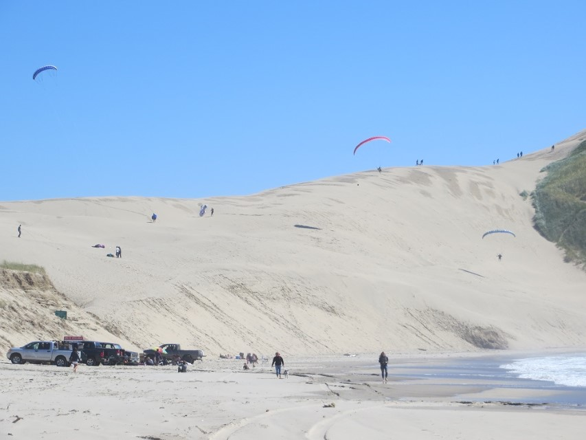 Parasailing on the Dune at Pacific City