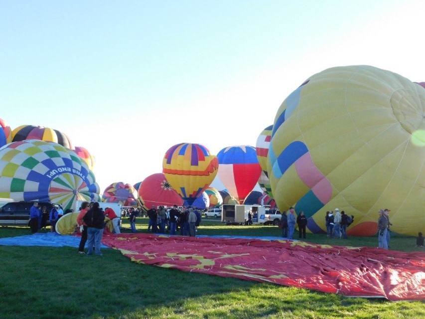 Full Time Families Helps launch balloon